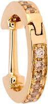 Elise Dray Diamond & yellow-gold mini hoop earring