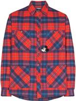 Gucci x Disney Mickey Mouse check shirt