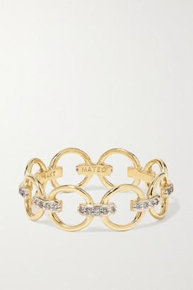 Mateo 14-karat Gold Diamond Ring - 6