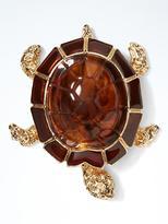 Banana Republic Tortoise Turtle Brooch