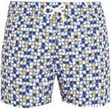 FRESCOBOL CARIOCA Sports Cerejeira-print swim shorts