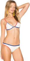 Tavik Jett Bikini Top in White. - size L (also in M,S)