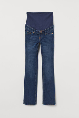 H&M MAMA Mini Flare Jeans