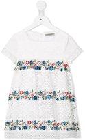 Ermanno Scervino floral embroidery dress