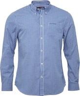 Ben Sherman Long Sleeve Standard Gingham Shirt Directoire Blue