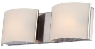 Orren Ellis Rhinecliff 2-Light Bath Bar Finish: Chrome