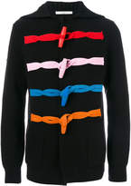 Givenchy contrast button cardigan