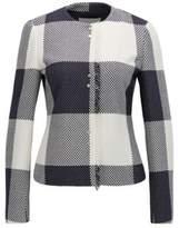 HUGO BOSS Gingham Cotton Jacket Karolie 4 Patterned