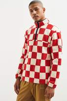 Stussy Checkered Mock Neck Sweatshirt