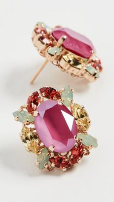 Anton Heunis Gem Cluster Earrings