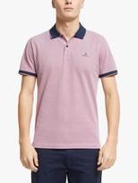 Gant Oxford Pique Short Sleeve Polo Shirt