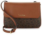 Calvin Klein Monogram Faux Leather Crossbody