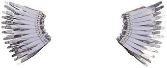 Mignonne Gavigan Mini Madeline Earrings - White/Silver