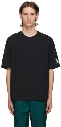 Kenzo Black Mesh Striped T-Shirt