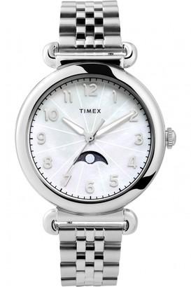 Timex Model 23 38Mm Stainless Steel Bracelet Watch