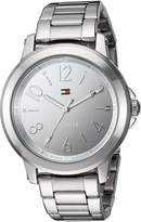 Tommy Hilfiger Women's 'SPORT' Quartz Stainless Steel Casual Watch, Color:-Toned (Model: 1781750)