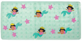 Ginsey Nickelodeon Dora the Explorer Dimensional Vinyl Bath Mat Mermaid