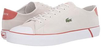 Lacoste Gripshot 120 (Off-White/Orange) Men's Shoes