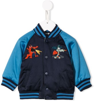 Stella McCartney reversible bomber jacket