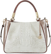 Brahmin Akoya Ruby Medium Satchel