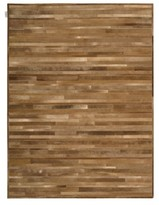 Calvin Klein Home Prairie Genuine Calf Hair Area Rug