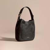 Burberry Textured Leather Shoulder Bag