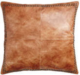 "Pyar & Co. Dohni Leather Sham, 26""Sq."