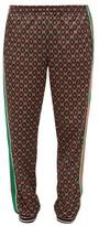 Gucci - Gg Print Track Pants - Mens - Black Brown