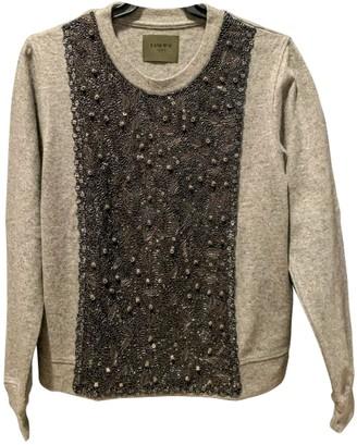 Loewe Grey Cashmere Knitwear for Women