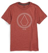 Volcom Toddler Boy's 'Pin Line Stone' Graphic Organic Cotton T-Shirt
