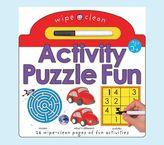 Pottery Barn Kids Wipe Clean Book - Puzzle Fun