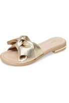 Sudini Leather Bow Sandal