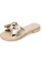 Sudini Leather Bow Sandal