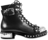 Alexander McQueen Hiking boot with studs