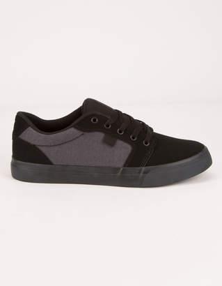 DC Anvil SE Black Mens Shoes