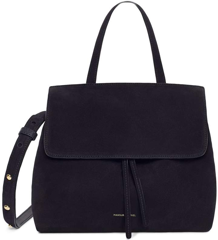 Mansur Gavriel Suede Mini Lady Bag