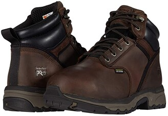 Timberland 6 Jigsaw Steel Safety Toe Internal Met Guard (Brown) Men's Shoes