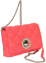 Kate Spade Gold Coast Dove Quilted Flap Crossbody
