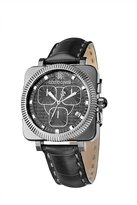 Roberto Cavalli Men's Bohemienne Chronograph Watch R7271666025 with Genuine Alligator Band and Dial