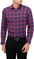 Canali Linen Check Shirt