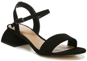 Sam Edelman Women's Irina Architectural Block-Heel Dress Sandals Women's Shoes