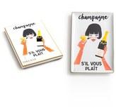 Rosanna 'Champagne S'Il Vous Plait' Porcelain Tray
