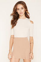 Forever 21 FOREVER 21+ Vented Mini Skirt