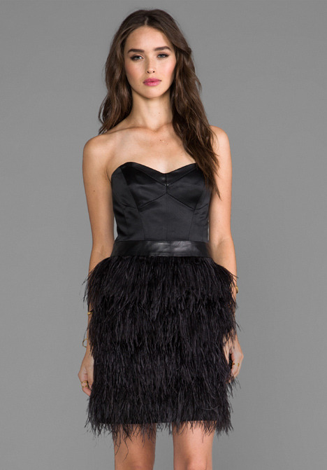 Milly Cocktail Bustier Dress