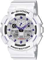 G-Shock Men's Plastic Resin Case and Bracelet Digital-Analog Alarm
