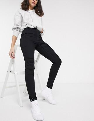 Cheap Monday High Spray skinny jeans-Black