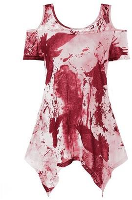 Toamen Summer T Shirt Toamen Women's Tops