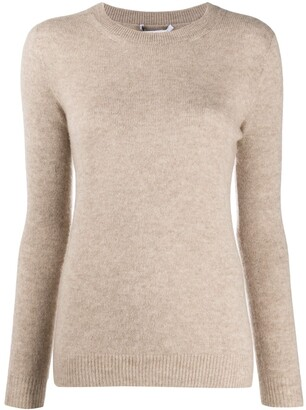 Agnona Fitted Crew Neck Jumper