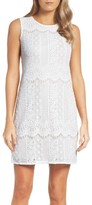 Adrianna Papell Women's Lace A-Line Dress
