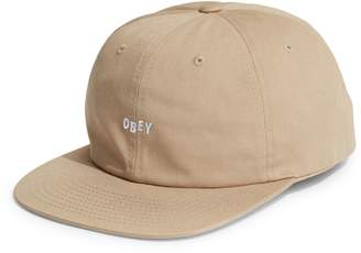 Obey Jumbled 6-Panel Snapback Hat